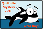 Orca Bay Mystery quilt