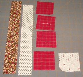 Quilting Assistant : Free Pattern : Churn Dash Block