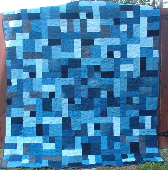 Free Denim Quilt Pattern | Patterns Gallery : denim quilt patterns for beginners - Adamdwight.com