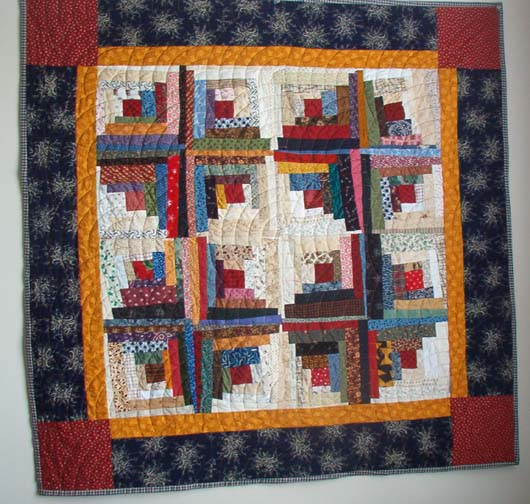 looking for a good easy log cabin quilt pattern? Yahoo Answers