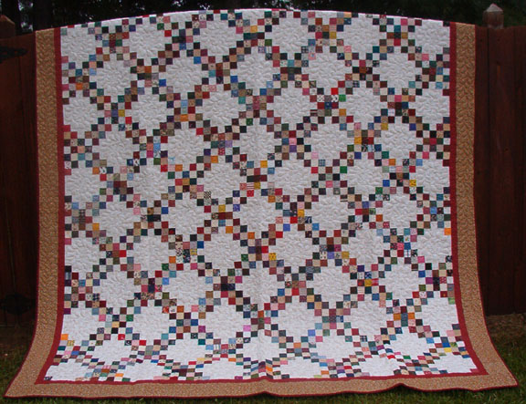 Quilt Pattern For Double Irish Chain : Double Irish Chain Quilt Pattern Patterns Gallery