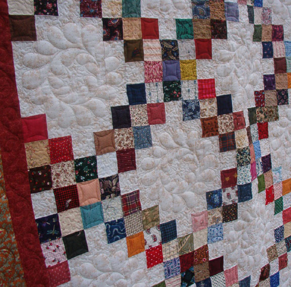 Hunter Quilt, Quilt Ideas, Patterns Triple, Quilt Patterns, Irish Chain Quilt Pattern, Quilt ...