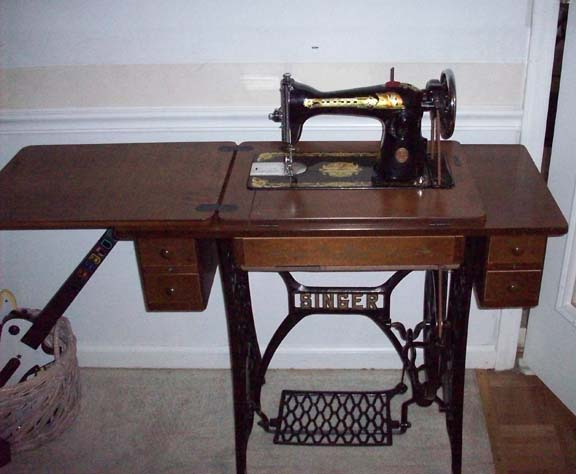 Not vintage sewing machine value goes