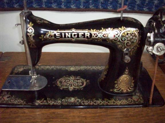 Quiltville's Home For Vintage Sewing Machines Inspiration Singer Sewing Machine Model 15 91 Value