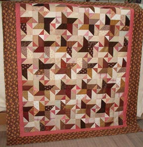 Pink & Brown Quilts on Pinterest | 60 Pins